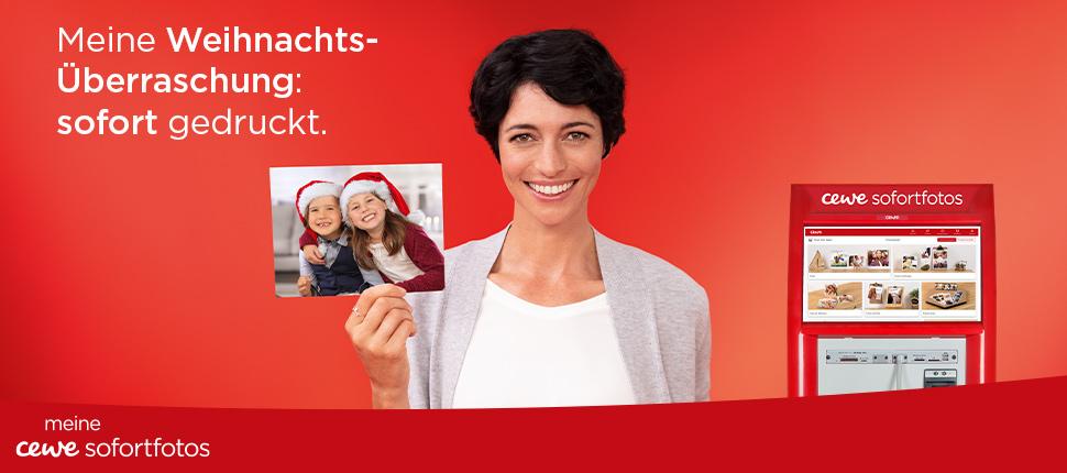 Cewe Weihnachtskarten.Fotos Sofort Zum Mitnehmen Cewe Fotostation