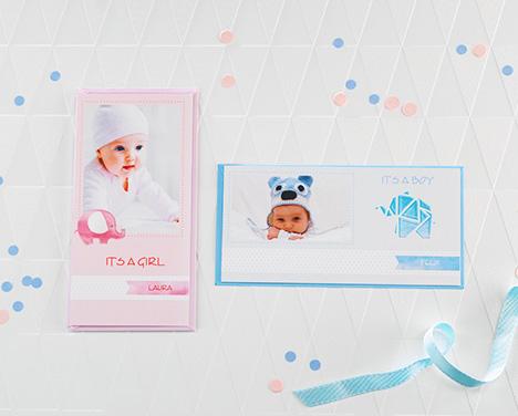 Babykarten Mit Foto Gestalten Und Online Bestellen Cewe Cards