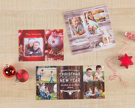 Weihnachtskarten Gestalten Günstig.Weihnachtskarten Bestellen